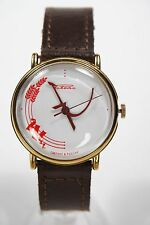 Russian mechanical watch RAKETA Soviet Hammer & Sickle. White dial. 36mm Case 1