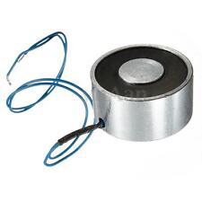 55LB (25kg) Electric Lifting Magnet Electromagnet Solenoid Lift Holding 40mm