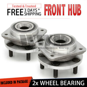 WWD 2x Front Wheel Hub Bearing For 1991-1995 Plymouth Acclaim Grand Voyager
