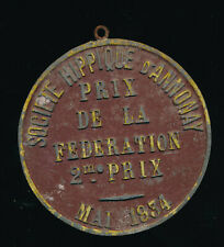 Plate horse show society may 1934-price of the Federation-Annonay