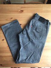 Levis 501 Men's Jeans grigio nero 32/30