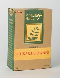 Shikakai Poudre Pour Cheveux Sains , 100% Naturel Après-shampooing De Inde