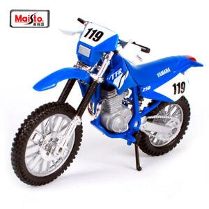 Yamaha TT-R 250 1:18 Kids Diecast Dirt Bike Motocross Motorbike Motorcycle Toy