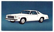 1975 Chevrolet Malibu Classic Postcard *5C
