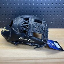 "Mizuno Global Elite VOP Baseball Glove Black 11.75"" GGE52VBK Right Hand Thrower"
