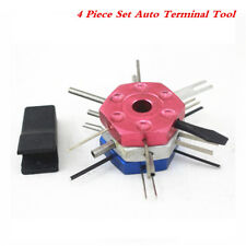 4 Piece Set Auto Terminal Tool Kit Various Cable & Wire Extractor Tools
