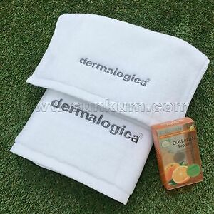 Dermalogica white towel