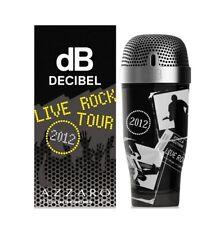 AZZARO dB DECIBEL LIVE ROCK TOUR 2012 For Men Cologne 3.4 oz ~ 100 ml EDT Spray