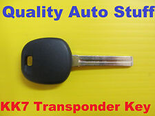 NEW 2004 2005 2006 High Security Transponder Chip Key Blank KK7-PT 81996-3FA10