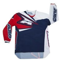 AXO Prodigy Junior Jersey Blue//White//Red, X-Large