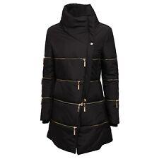 2166J giubbotto 2 in 1 donna MANGANO black/gold jacket woman