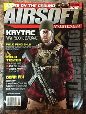 Airsoft Insider Krytac War Sport Field Tests Gear Spring 2016 FREE SHIPPING JB