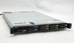 Dell PowerEdge R620 Server E5-2640 6C 2.50GHz CPU 48GB RAM 8*1TB HDD H710P