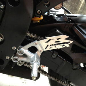 Motorcycle Foot Peg Heel Plates Guard For SUZUKI GSX-R 600 GSX-R 750 GSX-R 1000