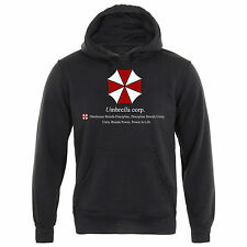 UMBRELLA CORPORATION MENS RESIDENT EVIL HOODIE CORP THE HIVE T VIRUS - SIZE XL