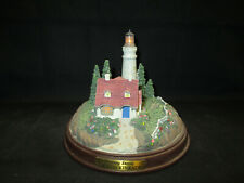 Thomas Kinkade Cleaaring Storms Battery Operated Lighted Lighthouse Figure