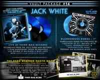 """FACTORY SEALED COMPLETE W/ BOOK VAULT #14 """"Jack White Live @ Third Man Records"""""""