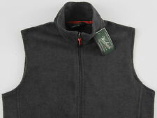 Men's WOOLRICH Gray Grey Fleece Vest Medium M NWT NEW Nice!!