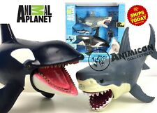 Animal Planet MEGA SHARK & ORCA ENCOUNTER Killer Whale Great White Playset 2020