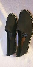 Ladies Black Plimsolls Canvas Shoes Size 4 Jumex