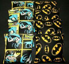 8 Aca Regulation Corn Hole Game Bags w Batman SuperHero Fabric
