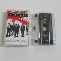 RESERVOIR DOGS MUSIC FROM THE MOTION PICTURE SOUNDTRACK CASSETTE TAPE MCA 1992