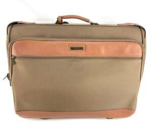 Hartmann Nylon and Leather Wheeled Garment Bag