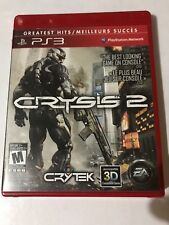 CRYSIS 2 (PS3) PlayStation 3 RATED M. 3D COMPATIBLE GAME