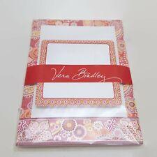 Vera Bradley Fizz Pink Note Pad Set With Sticky Notes