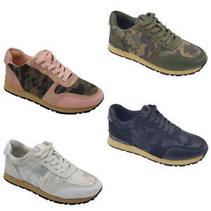 Footwear Sale Women fashion Sneakers Camouflage Platform Casual Trainers Size