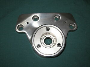 X Axis End Cap w/ Bracket fit Bridgeport (Single Bearing / Right Hand Side)