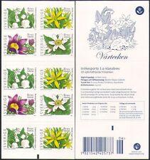 Sweden 2005 Spring Flowers/Plants/Nature 10v s/a bklt (n34605)