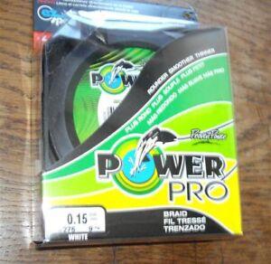 POWERPRO fishing braid 300yd 20lb WHITE POWER PRO
