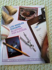 Los Angeles Dodger Blueprint for Success 1988 Commemorative Yearbook