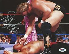 The Million Dollar Man Ted DiBiase Signed Wwe 8x10 Photo Psa/Dna Coa Autograph 4