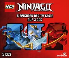 LEGO NINJAGO HÖRSPIELBOX 1  3 CD NEU