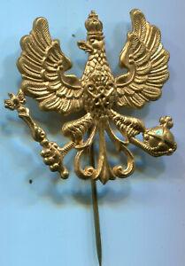 Altes Abzeichen in Abbildung einer Preußen Adlers mit gekröntem W