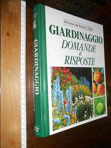 LIBRO: Giardinaggio domande e risposte selezione dal Reader's Digest 1989
