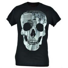 Tony Hawk Clothing Brand Skelecity Skeleton City Graphic Black Tshirt Tee