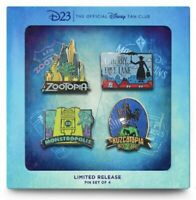Disney D23 Fantastic Worlds Pin Set 2020 Limited Release IN-HAND READY TO SHIP!