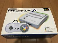 SNES Super Famicom Jr. Japan Edition Gray Console with BOX and Manual
