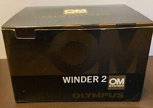 Olympus OM System Winder 2 in original box