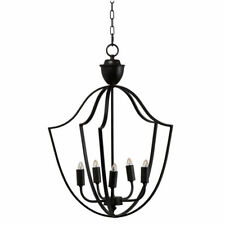 "Malin Rustic 5-Light Chandelier 18x17.5x25.5""-43460-DS"