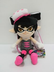 "Splatoon Squid Callie Pink Aori Inkling Sanei 2015 TAG Plush 10"" TAG Toy Doll"