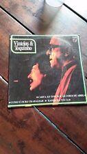 """Vinicius de Moraes Toquinho  Rare  7"""" EP Brazil Carta ao Tom 1974 VG"""
