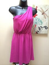 LOVE, FIRE ONE SHOULDER Mini DRESS Violet SIZE S NEW WITH TAGS!!! AMAZING!