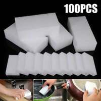 100Pcs Multiuse Magic Sponge Eraser Kitchen Cleaning Melamine Foam Cleaner Fine
