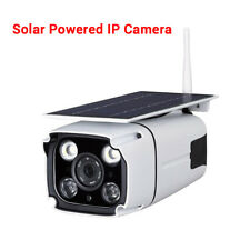 Solar Battery Power IP Camera WiFi HD Waterproof Outdoor Security IR For Android