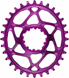 Oval Direct Mount Chainring for SRAM 3-Bolt - absoluteBLACK Oval Narrow-Wide