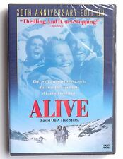 Alive 1993 Andes airplane crash survivors movie DVD Ethan Hawke John Malkovich